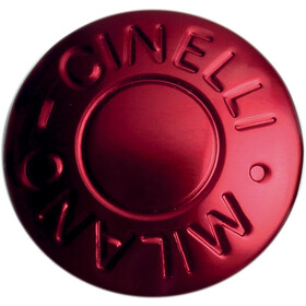 Cinelli Milano Handlebar Ends red